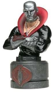 Hasbro GI Joe Destro mini bust statue