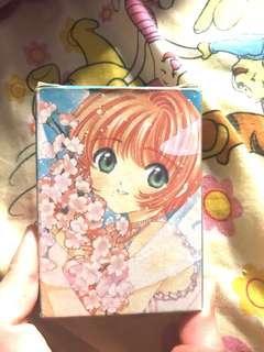童年收藏,非官方 漫畫版(CLAMP原畫) 小櫻/百變小櫻/Cardcaptor Sakura/庫洛魔法使/魔卡少女櫻 啤牌