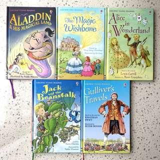5 Classic Children's Story Books from Usborne Young Reading
