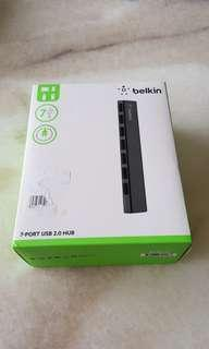 Belkin 7 Powered USB ports for laptop connection and Charging Devices