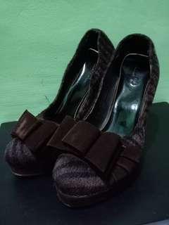 Sepatu Coklat Nine West #bersihbersih #ninewest