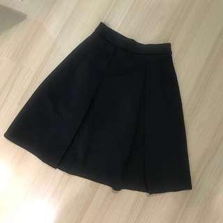 Padini Authentic black midi skirt