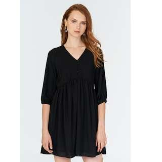 BN TCL Kendra Babydoll Dress in Black (The Closet Lover)