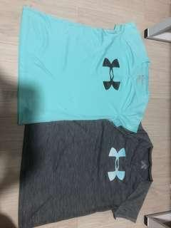 AUTHENTIC UNDER ARMOUR SHIRTS