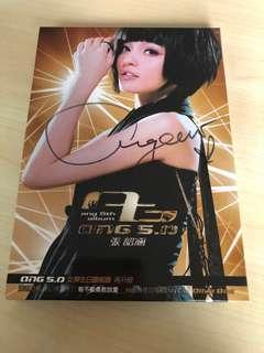 🚚 Angela Chang 5th Album Autographed Album