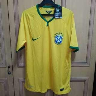 AUTHENTIC Nike World Cup 2014 Player Version Brasil Football Jersey