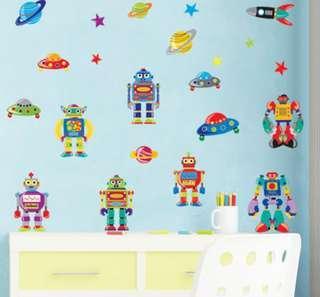 Wall Sticker - Robot Design