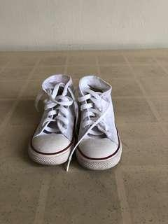 Converse Rubber Shoes (White)