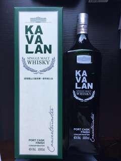 Kavalan 台灣威士忌