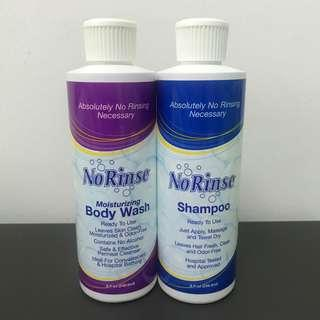 NoRinse Body Wash & Shampoo