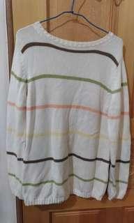 🚚 條紋 針織 毛衣