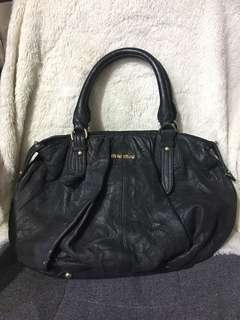 MiuMiu leather bag