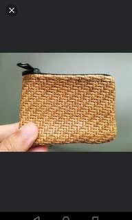 [NEW] Cute Small Purse - Knit/Weaved Straw Tiny Purse