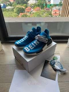US7.5 Adidas NMD Human Race OG Blue