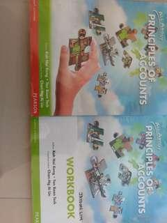 Principles of Accounts Textbook and Workbook
