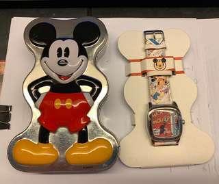 迪士尼 Disney 米奇 Mickey Mouse 手錶