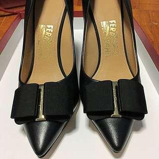 Salvatore Ferragamo Mimi Pumps With Grosgrain Bow