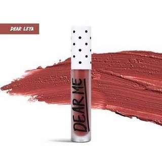 Dear Me lip cream matte shade Dear Leya