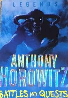 Legends:Anthony Horrowitz   Battles And Quests