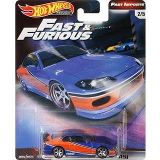 Hotwheels 2019 Fast & Furious Series Nissan Silvia (S15) The Fast and The Furious: Tokyo Drift Rare