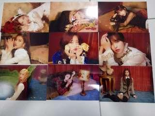 WTS TWICE Seasons Greetings 2019 The Roses Pre-order benefits Printed Photo