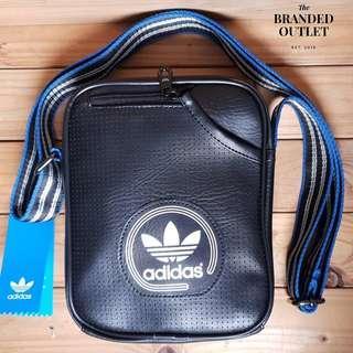 Adidas Trefoil Retro Style Mini Bag Black Color