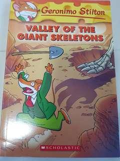 Geronimo Stilton Valley of the Giant Skeletons