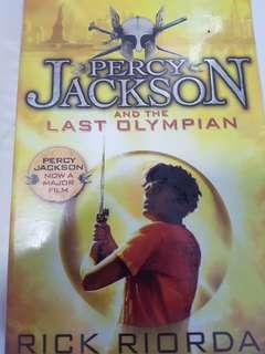 $2 Percy Jackson and the last olympian