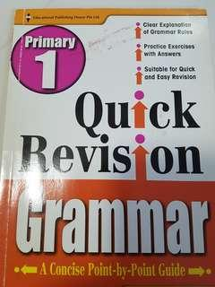 Pri 1 Quick Revision Geammar foc normal postage