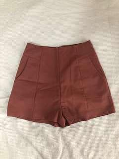 Dusty Rose Shorts - Size 8/S