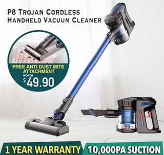 SGP8 Trojan Cordless Vacuum Cleaner ( Handfree ) P8