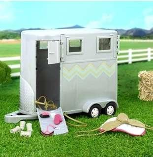 Doll Hoofing It Horse Trailer Set, Come hang out with Lori and all of her smart, adventurous, and trendy friends. They love ballet, reading, giggling, and.., By Lori