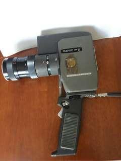 Vintage camera canon zoom 8