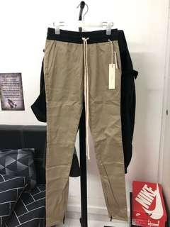 Fear of god pacsun chinchilla trousers size s
