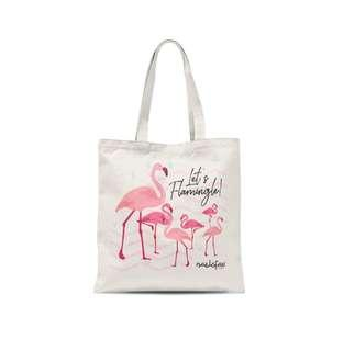 Naelofar Tote Bag - Flamingo