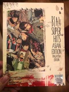 B1A4 Super Hits Asian Edition Malaysia version