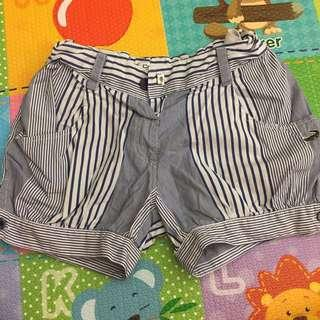 短褲 -藍色