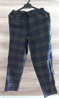 FIFTH AVENUE Checker Pants