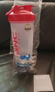 GNC Blender Bottle shaker cup with Blender Ball (new)