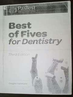 PasTest Best of Fives for Dentistry Third Edition Douglas Hammond