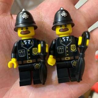 Lego Custom UK Police with Umbrella