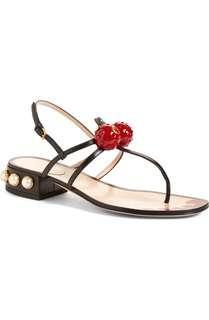 Gucci Hatsumomo - inspired sandals