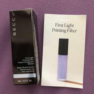 Becca First Light Priming Filter Primer - Mini