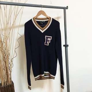 Fred Perry x Raf Simons 'F' Pullover Cardigan