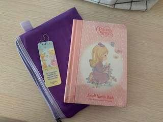 Precious Moments NKJ bible for Girls