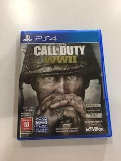 Sony PS4 Call Of Duty WWII with DLC