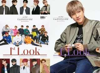 Wanna One 1st Look CE& Park Woojin Cover