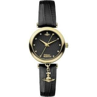 """VV108BKBK英國品牌手錶""""Vivienne Westwood""""兩年保養"""