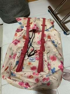 Herschel Backpack floral flower pattern 花花 背包 書包