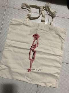 CHANEL HK Mademoiselle prive Exhibition Tote Bag 環保袋